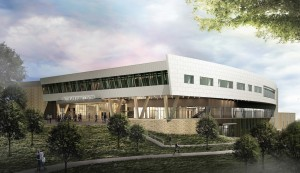 Event Center Entry Rendering 1