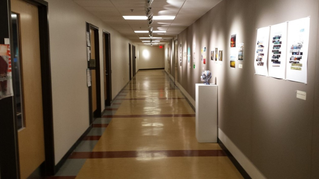 Renovated Corridor in the Fine Arts Building